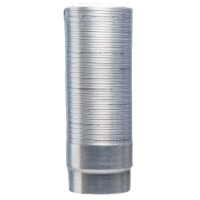 Flexible 1m tubage inox polycombustible d200