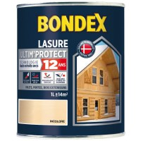 Lasure bondex protection extême 12 ans incolore 1l