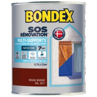 Peinture de rénovation bondex multi support 7 ans r basque 0,75 ml