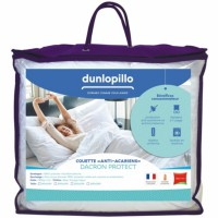 Couette 140x200 cm dunlopillo anti-acariens protect