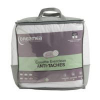 Couette 140 x 200 cm dreamea everclean anti-taches