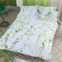 Drap housse satin willow acacia designers guild