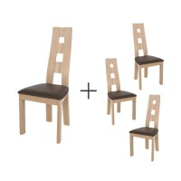 Lot de 4 chaises balkan
