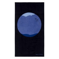 Drap de plage sea circle marc o´polo, blue