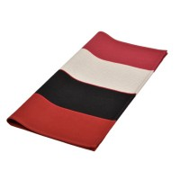 Lot de 6 serviettes de table laas rouge artiga