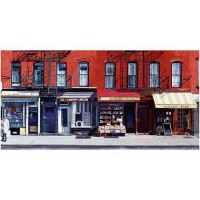 Four shops on 11th avenue, 2003 , anthony butera, affiche 50x100 cm