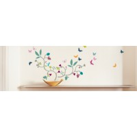 Sticker mural poppy blosso (vuillon )