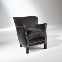 Fauteuil max gris rhino