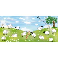 Film vitrostatique sheeps