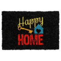 Paillasson couleur happy home