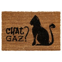 Paillasson animaux - chat gaz