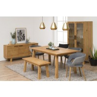 Ensemble table charles + 2 allonges