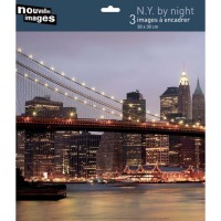 3 affiches new york by night
