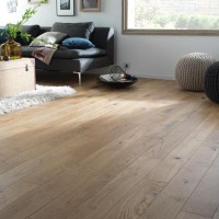 Parquet massif campagnard verni naturel colours everes 13 cm