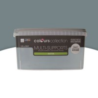 Peinture multi-supports colours collection béton satin 2,5l