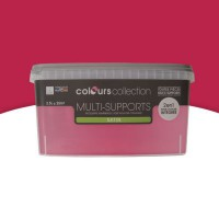 Peinture multi-supports colours collection hibiscus satin 2,5l