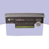 Peinture multi-supports colours collection lilas satin 2,5l