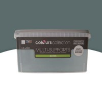 Peinture multi-supports colours collection macadam satin 2,5l