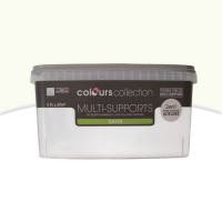 Peinture multi-supports colours collection talc satin 2,5l