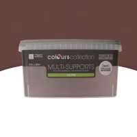 Peinture multi-supports colours collection truffe satin 2,5l