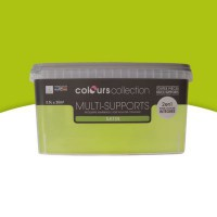 Peinture multi-supports colours collection chlorophylle satin 2,5l