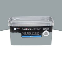 Peinture multi-supports colours collection ciel d'hyver mat 2,5l