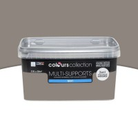 Peinture multi-supports colours collection truffe mat 2,5l