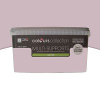 Peinture multi-supports colours collection ballerine satin 2,5l