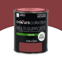 Peinture multi-supports colours collection bigarreau satin 0,75l