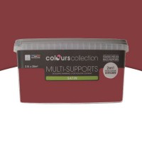 Peinture multi-supports colours collection bigarreau satin 2,5l