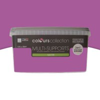 Peinture multi-supports colours collection bougainville satin 2,5l