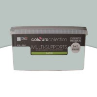 Peinture multi-supports colours collection gris clair satin 2,5l