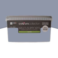 Peinture multi-supports colours collection gris mauve satin 2,5l