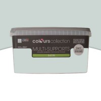 Peinture multi-supports colours collection light rain satin 2,5l