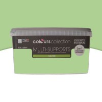 Peinture multi-supports colours collection wasabi satin 2,5l