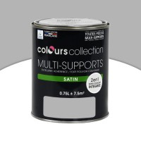 Peinture multi-supports colours collection rhinocéros satin 0,75l