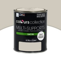 Peinture multi-supports colours collection voile de lin satin 0,75l