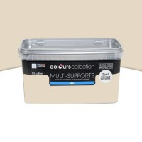 Peinture multi-supports colours collection pierre de taille mat 2,5l
