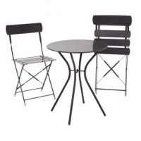 Mobilier rhode, table + 2 chaises