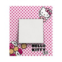 Plaque de finition simple hello kitty espace evolution