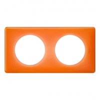 Plaque celiane 2 postes memories 70's orange