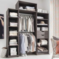 kit dressing placard. Black Bedroom Furniture Sets. Home Design Ideas