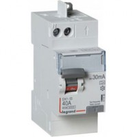 Interrupteur differentiel automatique dx3 30 ma-40a type a