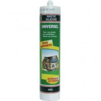 Mastic universel gris - 310 ml
