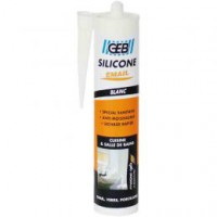 Mastic silicone surface