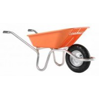 Brouette plume 100 corail roue gonfl
