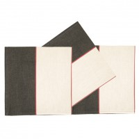 -20% lot de 6 serviettes de table artiga argagnon