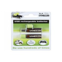 Pile rechargeable usbcell lr06 aa x2 usb