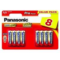 Pile panasonic pro power lr06 aa x8