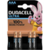 Pile duracell ultra power aaa lr03 x4